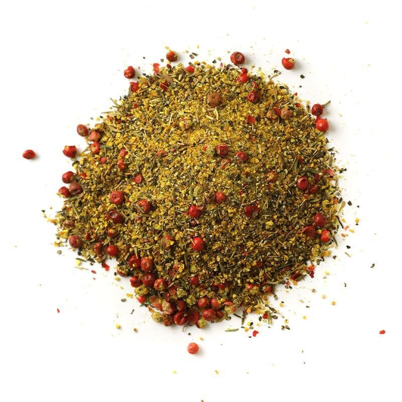 Pink Peppercorn Lemon Thyme Rub at The Mercantile in Rock Hill, SC